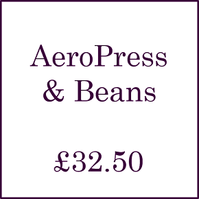The Amazing AeroPress with Coffee Beans