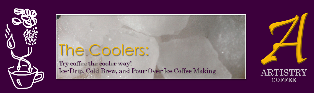 summer coffees :: try cool coffee making this summer