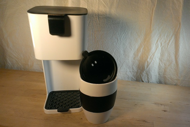 Koziol To Go maker with Insulated Mug