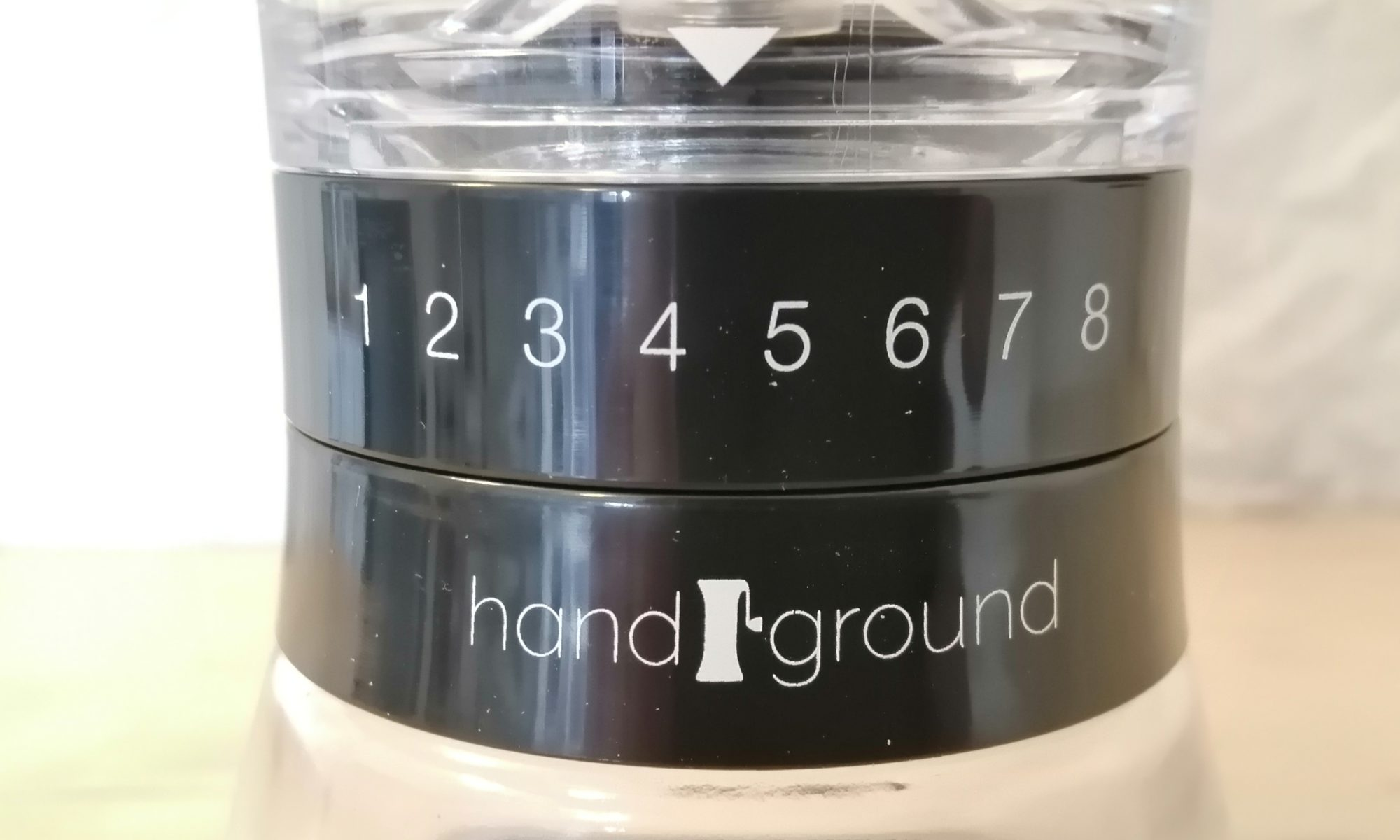 Handground Black Precision Dial