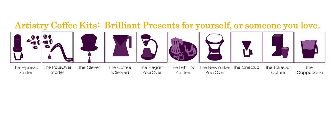 Coffee Kits Icons